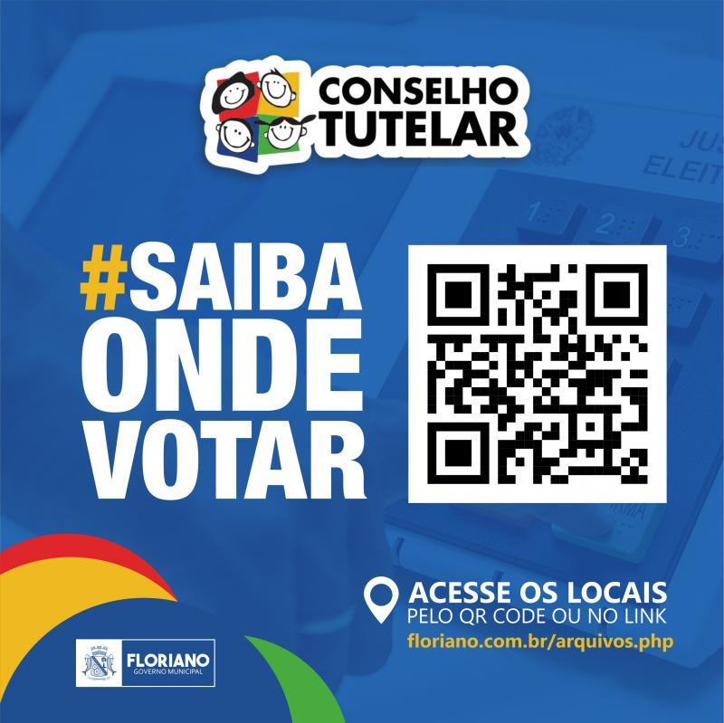 Divulgada lista com locais de votação para eleição do Conselho Tutelar