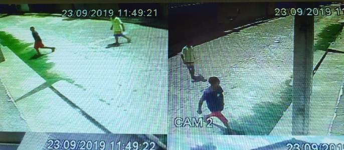 Vídeo: GCM/Timon prende arrombador filmado pulando muro de residência