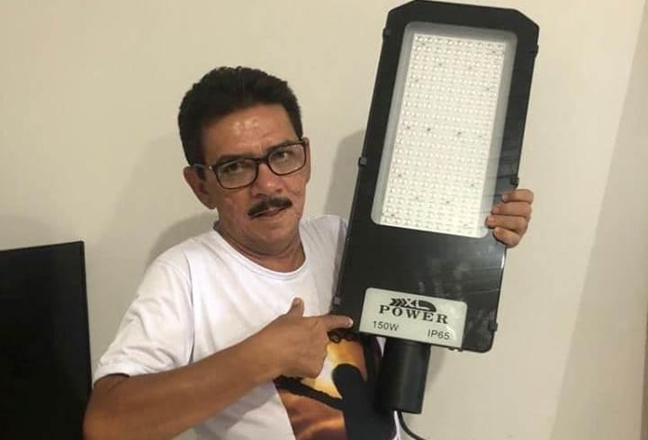 Capitão de Campos: Prefeitura iniciará instalação de luz de LED em breve