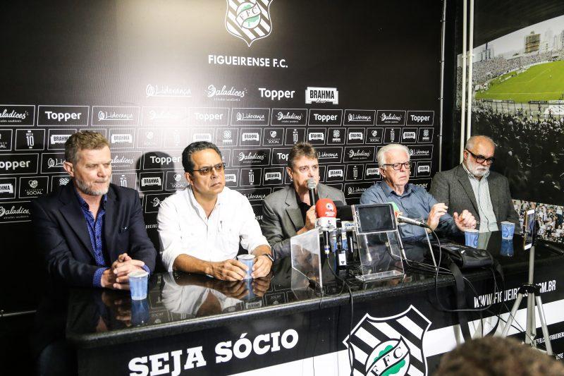 Figueirense nega a intenção de abandonar o Brasileirão da Série B