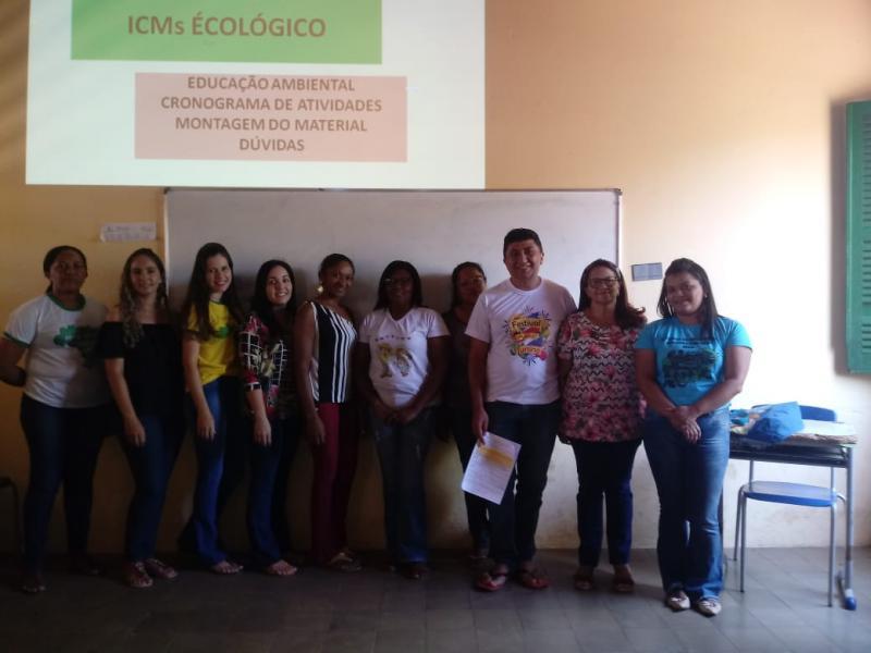 Secretaria de Meio Ambiente de Landri Sales, traça metas do ICMS-Ecológico