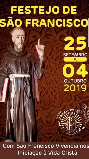 Amanhã começa o tradicional festejo de São Francisco em São João dos Patos