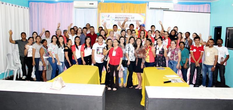 XI Conferência Municipal da Assistência Social de Padre Marcos