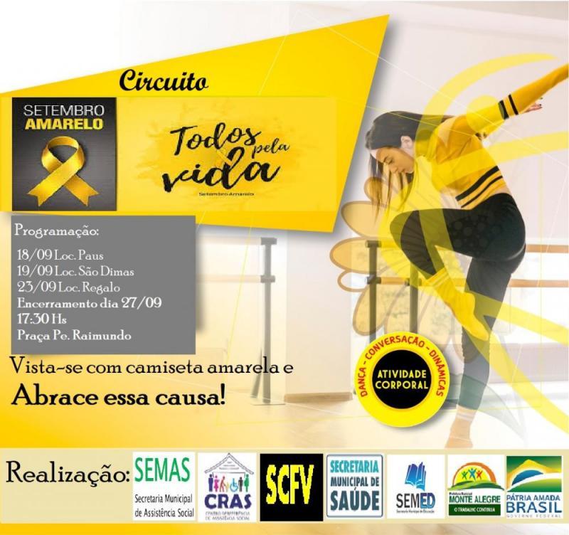 Mês da Prevenção ao Suicídio encerra dia 27 em Monte Alegre-PI