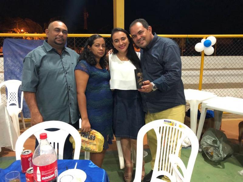 Prefeitura de Pau D'arco realiza confraternização de servidores com sorteio de brindes