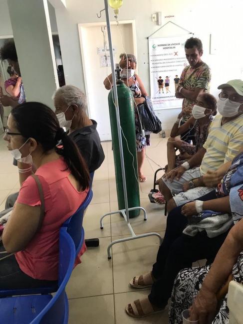Pacientes reclamam que Hospital de Picos está sem água há dois dias