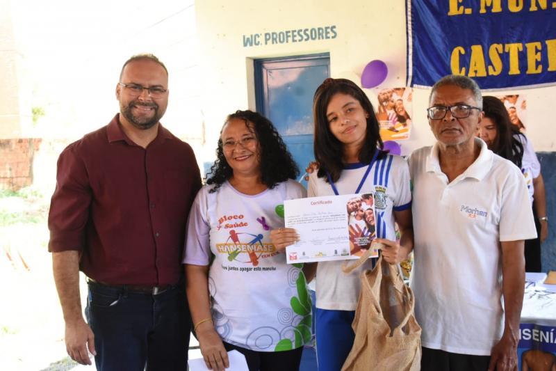Alunos da Rede Municipal são premiados em concurso de redação