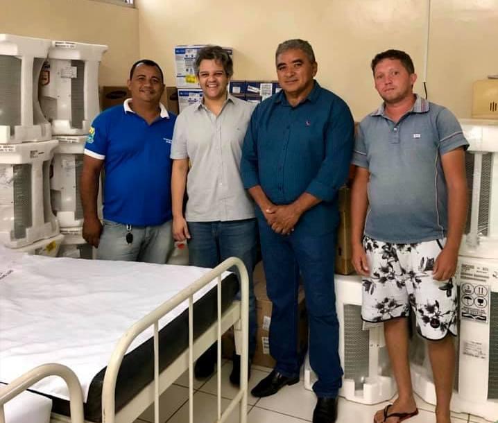 Miguel Leão | Prefeito realiza entrega de novos equipamentos para a Saúde