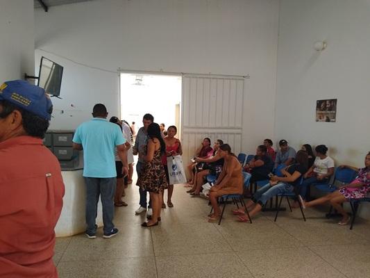 Atendimento médico no Município de Colônia do Gurgueia