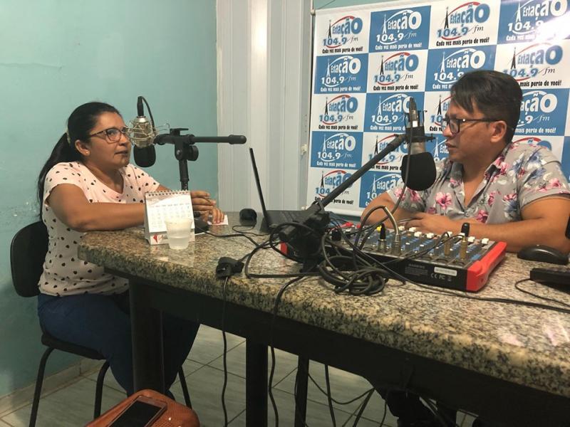 Ivonilsa Gomes e Lavina Meneses foram as entrevistadas desta quinta-feira