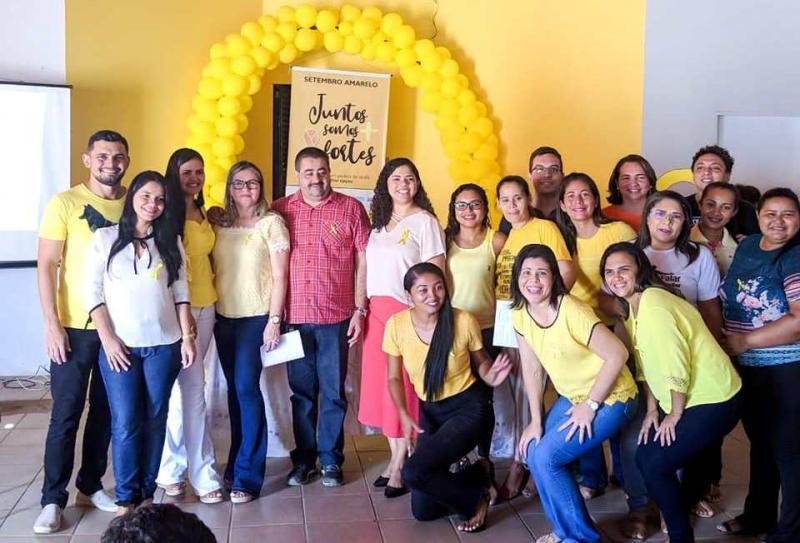 Lagoa do PI | Secretarias realizam palestras em alusão ao Setembro Amarelo