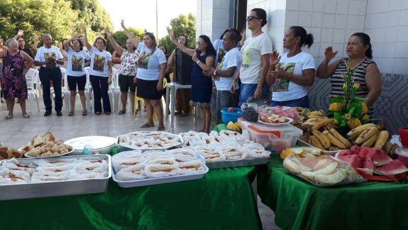 Abertura dos festejos com café da manhã comunitário