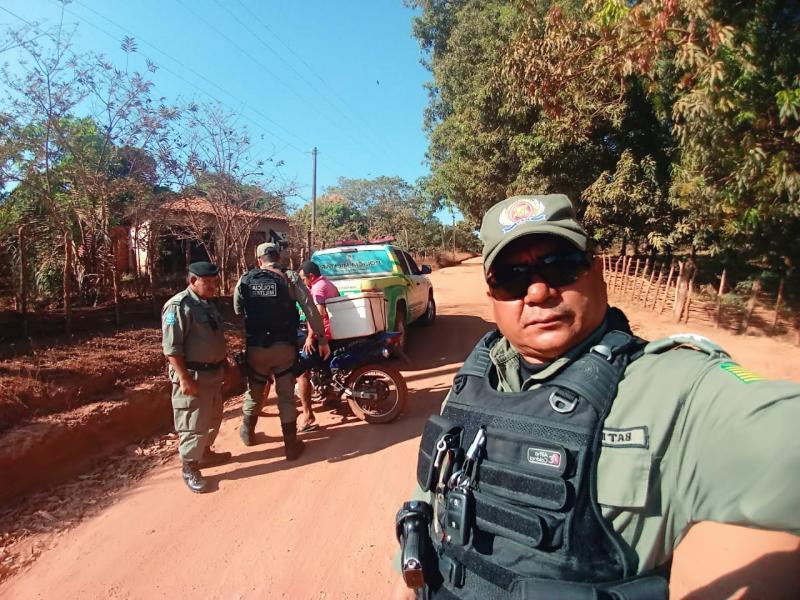 Polícia garante segurança nos festejos de Matias Olímpio