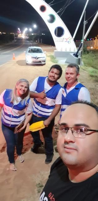 Realizado ação da semana nacional do trânsito em Barão de Grajaú