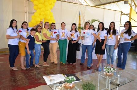 Secretarias Municipais (Saúde e Educação), se unem no Setembro Amarelo