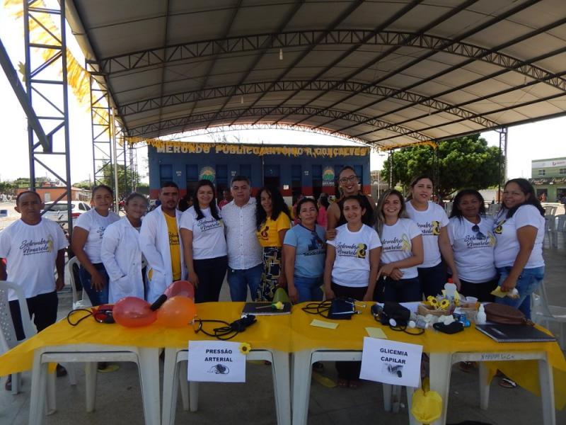 Agricolândia | Saúde realizou ações em alusão à campanha Setembro Amarelo