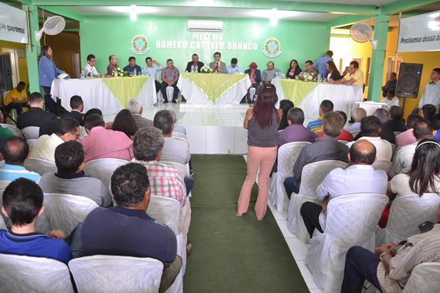 Audiência Pública em Marcolândia discute fechamento de casas de farinha