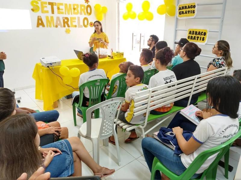 Paquetá realizou diversas atividades alusivas ao Setembro Amarelo