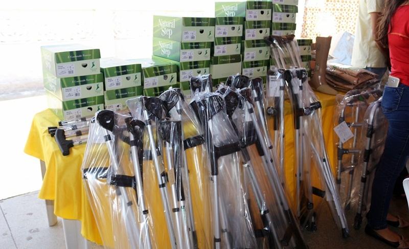 Padre Marcos | Saúde entrega 196 equipamentos ortopédicos