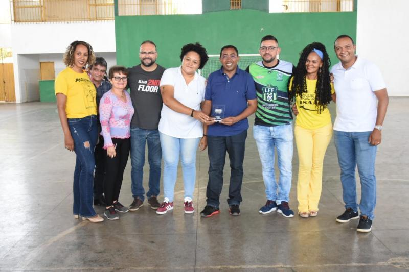 Joel Rodrigues é homenageado na Copa Cidade Futsal Feminino 2019