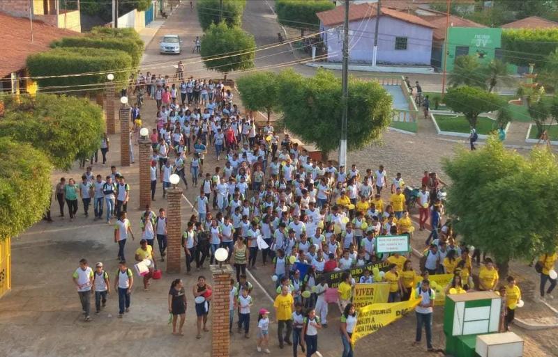 Setembro Amarelo é marcado por concentração em Campo Largo-PI
