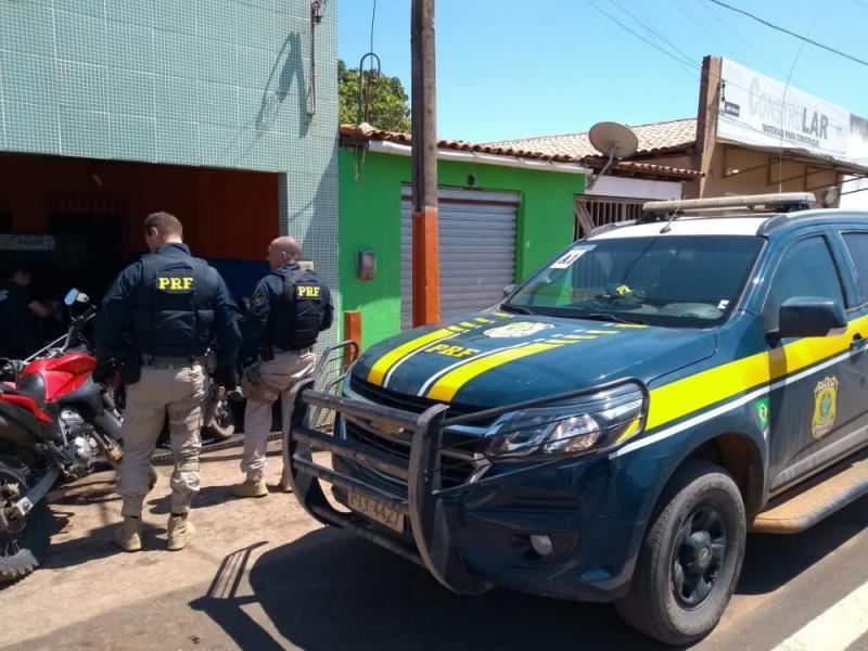 PRF realiza operação de fiscalização em Gilbués e Monte Alegre