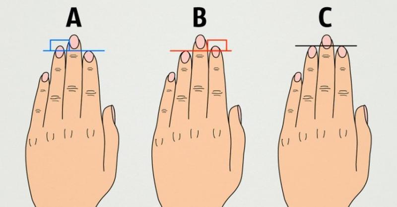 Saiba o que o formato dos seus dedos dizem sobre você