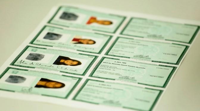 Número da carteira de identidade poderá ser unificado nacionalmente