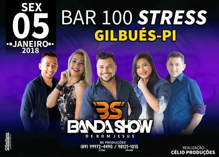 Vem aí grande festa no BAR 100 STRESS em Gilbués-PI