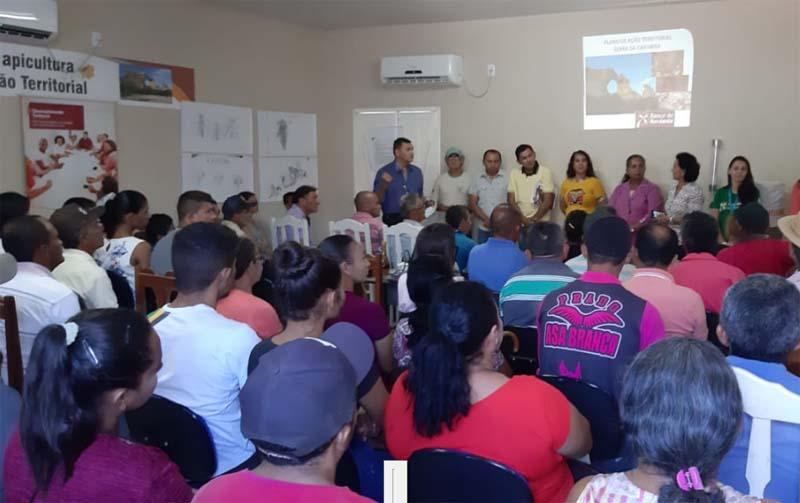 Seminário de Apicultura do PAT de São Braz do Piauí mobiliza 150 pessoas