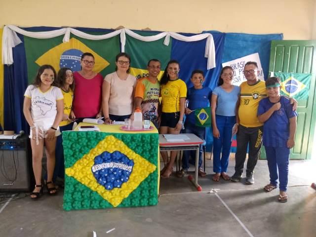 São Luís do Piauí | Escola realiza gincana com temática cívica
