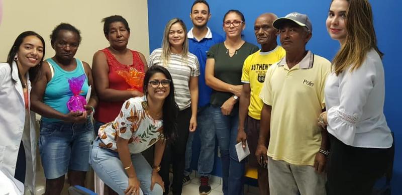 Miguel Leão   Saúde realiza Campanha contra o Tabagismo