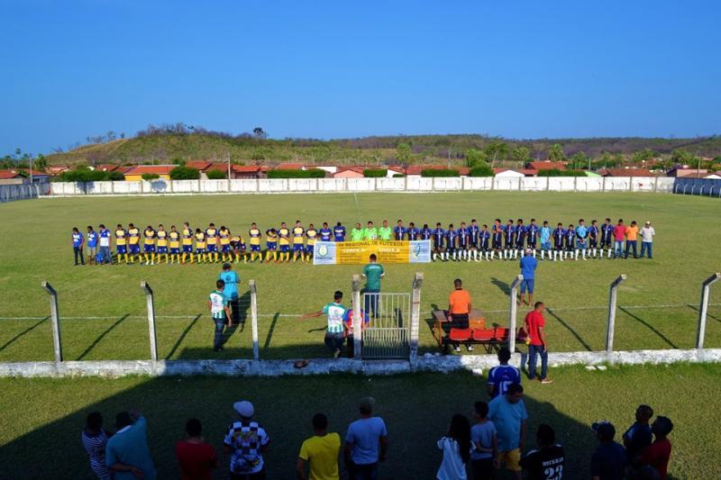 SMELT de Joaquim Pires realiza a abertura do IV Regional de Futebol