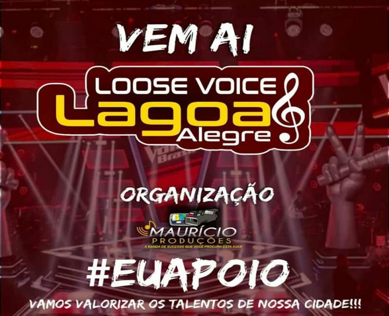 Lagoa Alegre terá evento Loose Voice para revelar talentos musicais