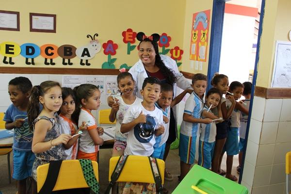 Ação do PSE na Creche Zezé Soares em Colônia do Gurgueia