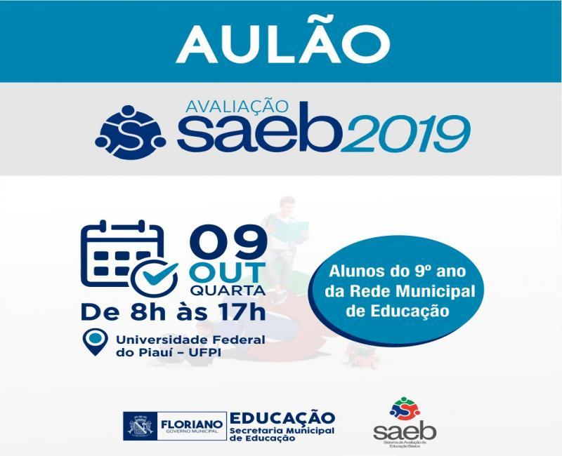 Floriano | SEMED realizará Revisão SAEB com alunos da rede municipal