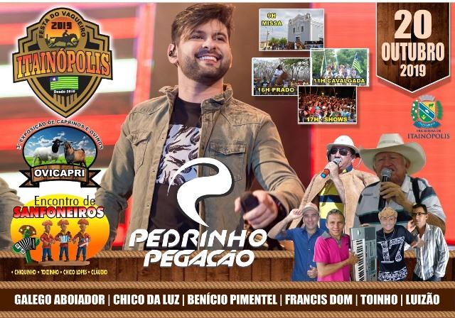 Itainópolis terá vasta programação festiva na Festa do Vaqueiro