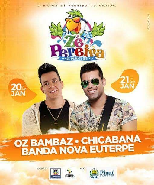 Confira as bandas do Zé Pereira de Amarante