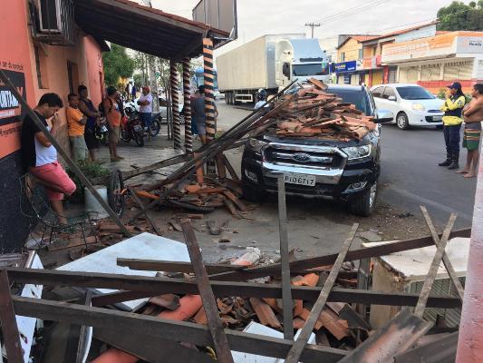 Imperícia por pouco não causa tragédia na manhã desta sexta(04) em Timon