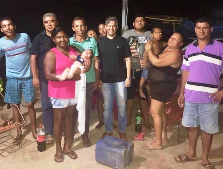Miguel Leão | Prefeito visita comunidade Saquinho e trata sobre demandas