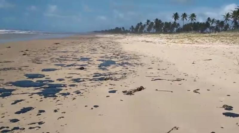 Sobe para 124 número de praias contaminadas por manchas de óleo