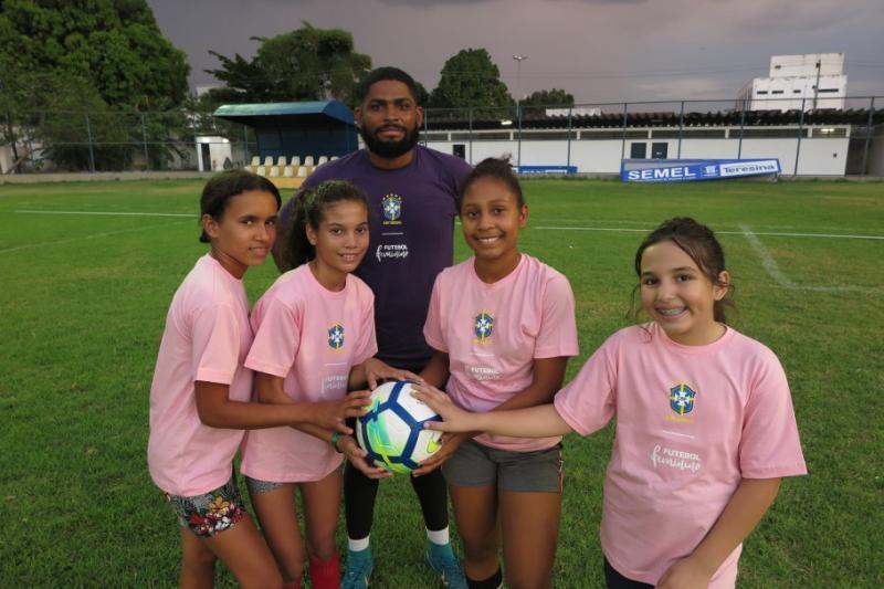 CBF Social: Festival inventiva o futebol feminino em Teresina