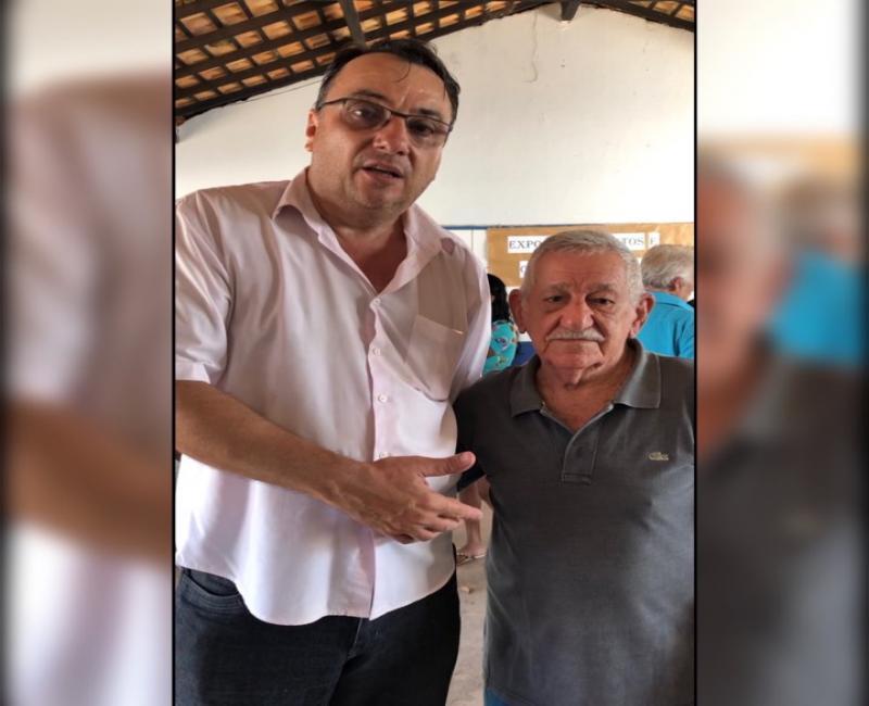 Seu Gonzaga aos 92 anos comparece às urnas para votação do Conselho Tutelar