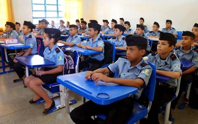 Estado de São Paulo adere ao programa de escolas militares