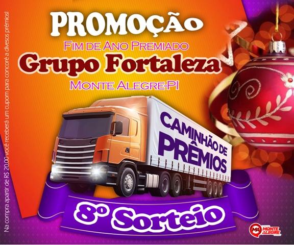 Promoção Fim de Ano - Grupo Fortaleza em Monte Alegre do Piauí. Confira