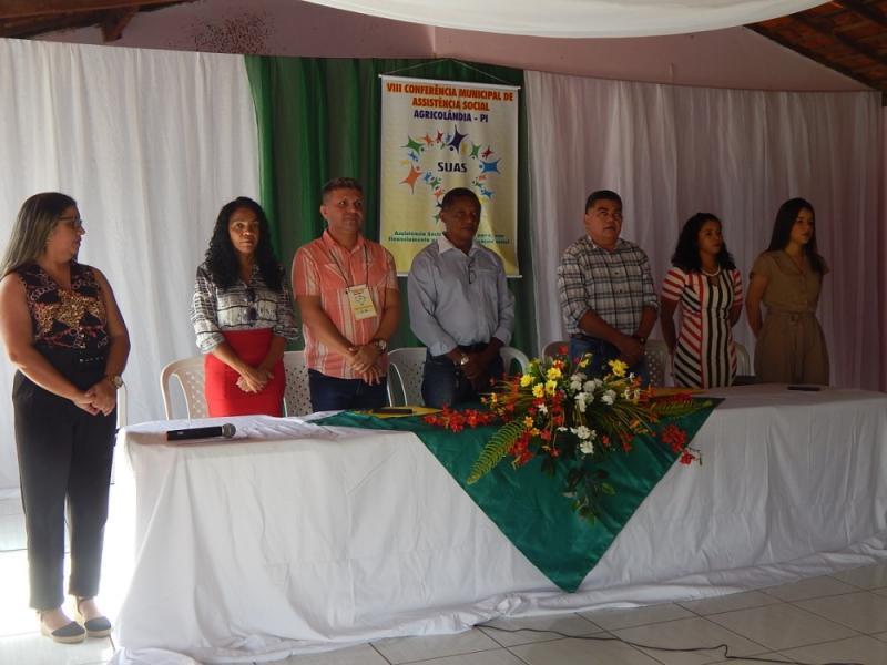 Agricolândia | VIII Conferência Municipal da Assistência Social é realizada