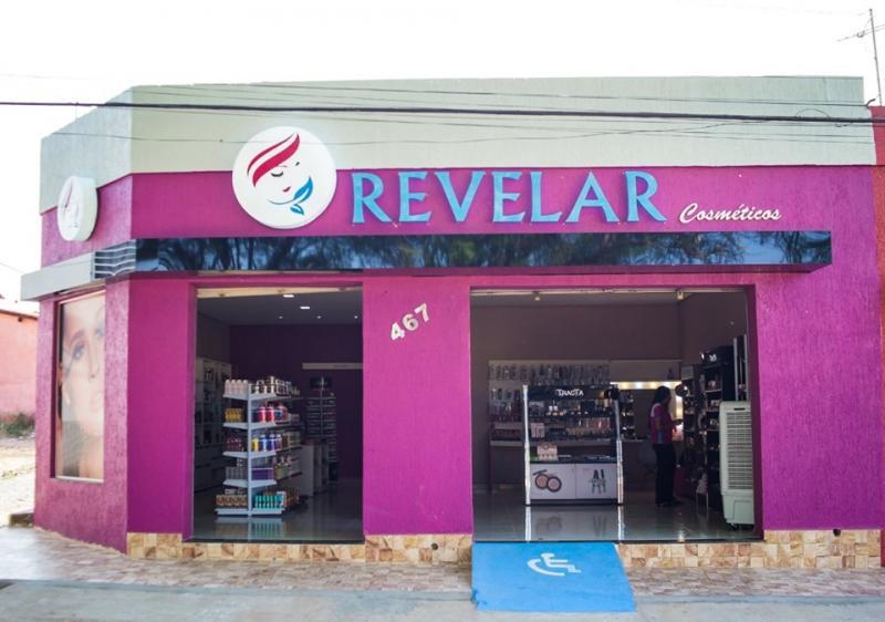 Inaugurado a nova loja revelar cosméticos em São João dos Patos