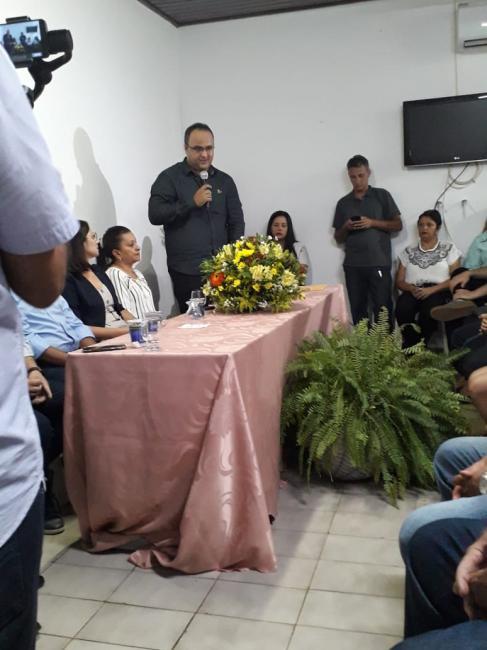 Ciretran esteve presente na posse do chefe da sutram em São João dos Patos