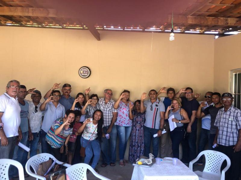 Dr. Celso Antonio reuni lideranças e assessoria jurídica em São José Peixe