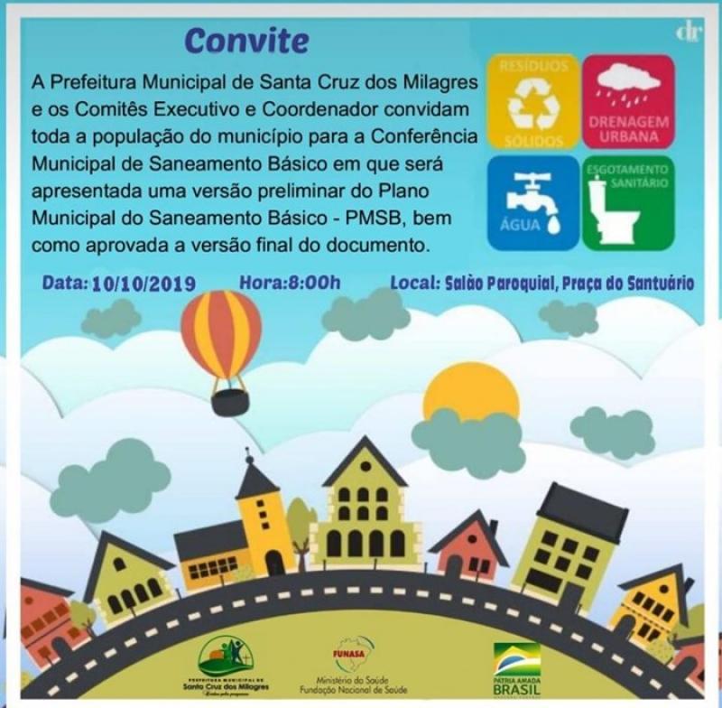 Santa Cruz | Prefeitura Convida população para participar da conferência